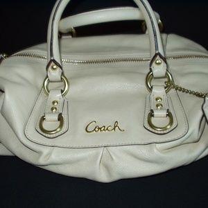 """Coach """"Ashley"""" Leather Handbag - NEW NEVER USED"""